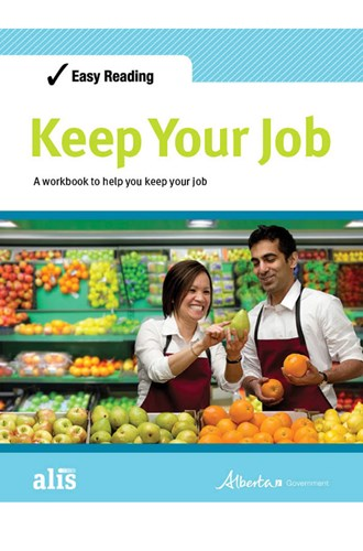 Easy Reading Keep Your Job publication cover