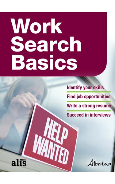 Work Search Basics – A free publication for Albertans – alis