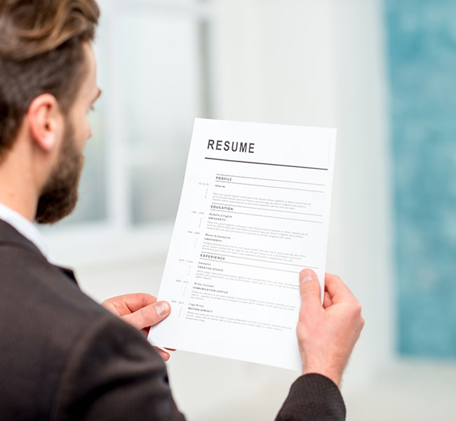 Resumés and References Look for Work
