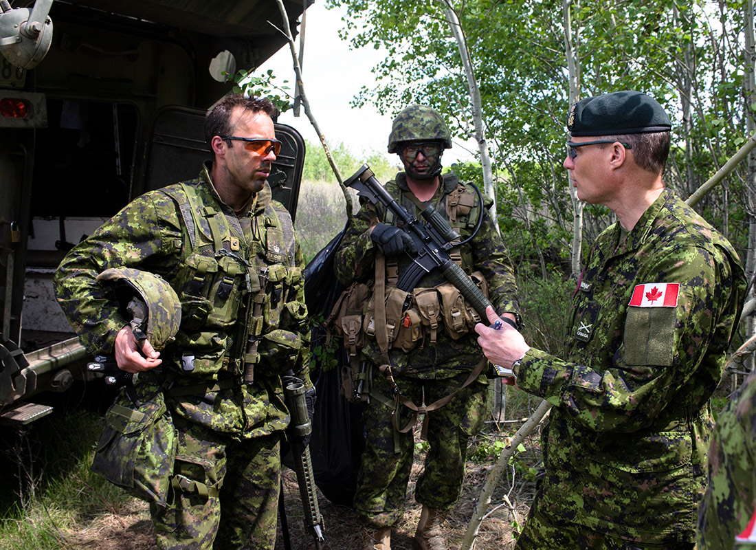 Canadian Armed Forces Personnel - Non Commissioned