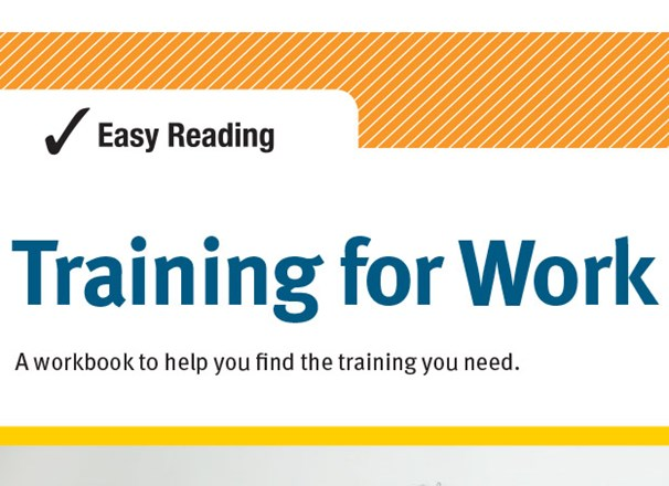 Easy Reading Training for Work publication cover