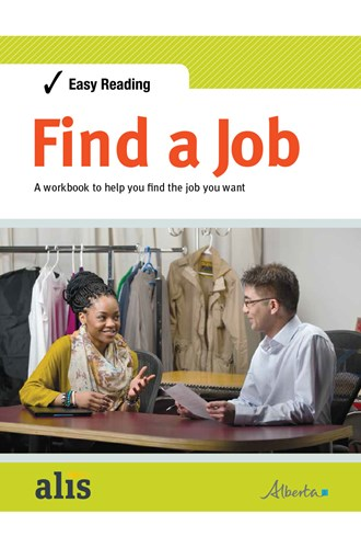 Easy Reading Find a Job publication cover